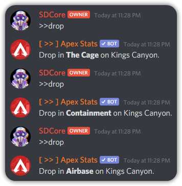 Where to Drop